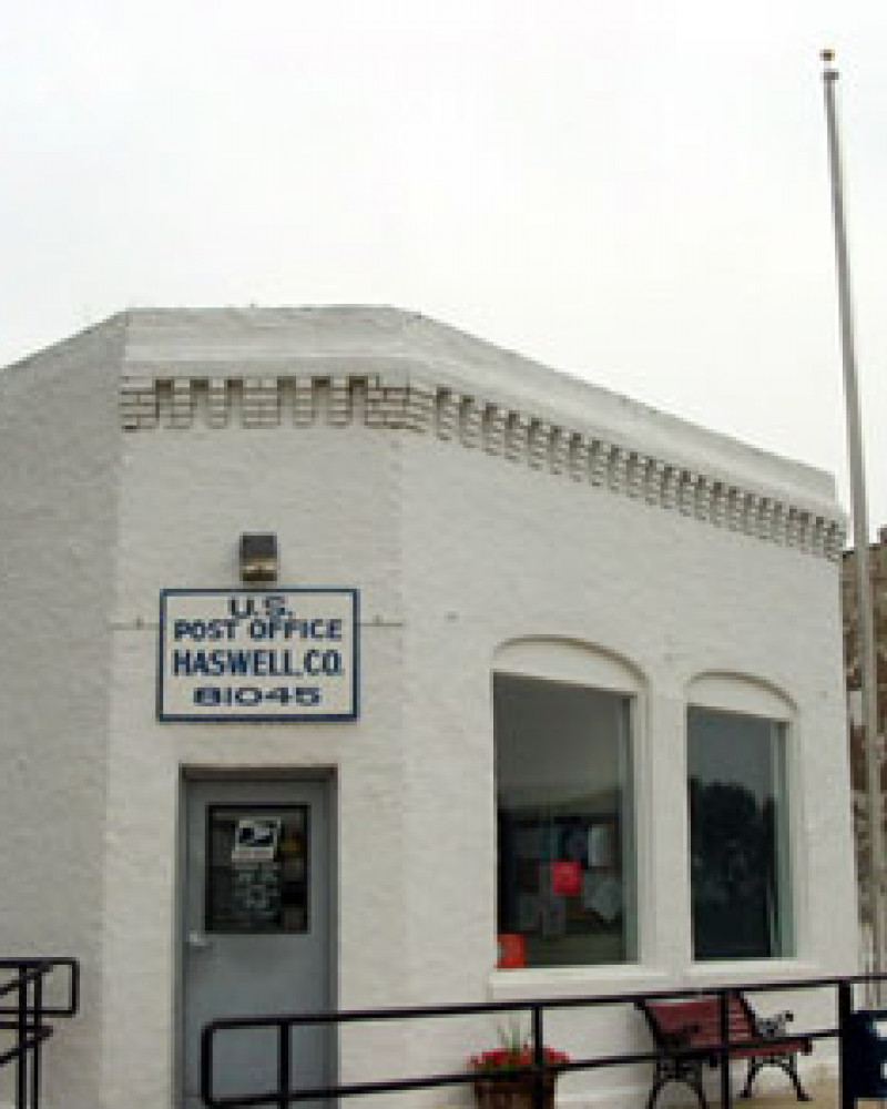Haswell's post office