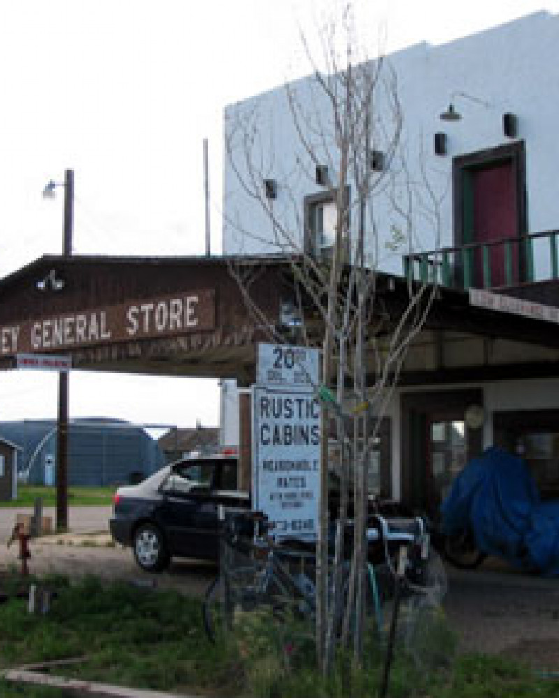 The store in Cowdrey