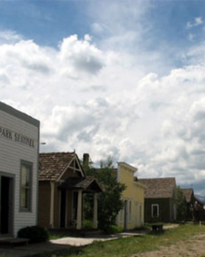 The historic buildings of South Park