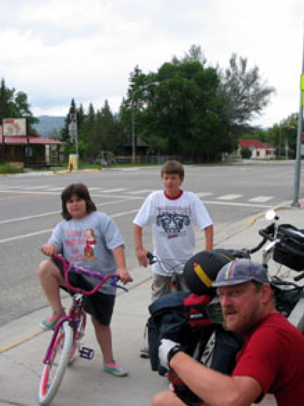 The young people of Twin Bridges