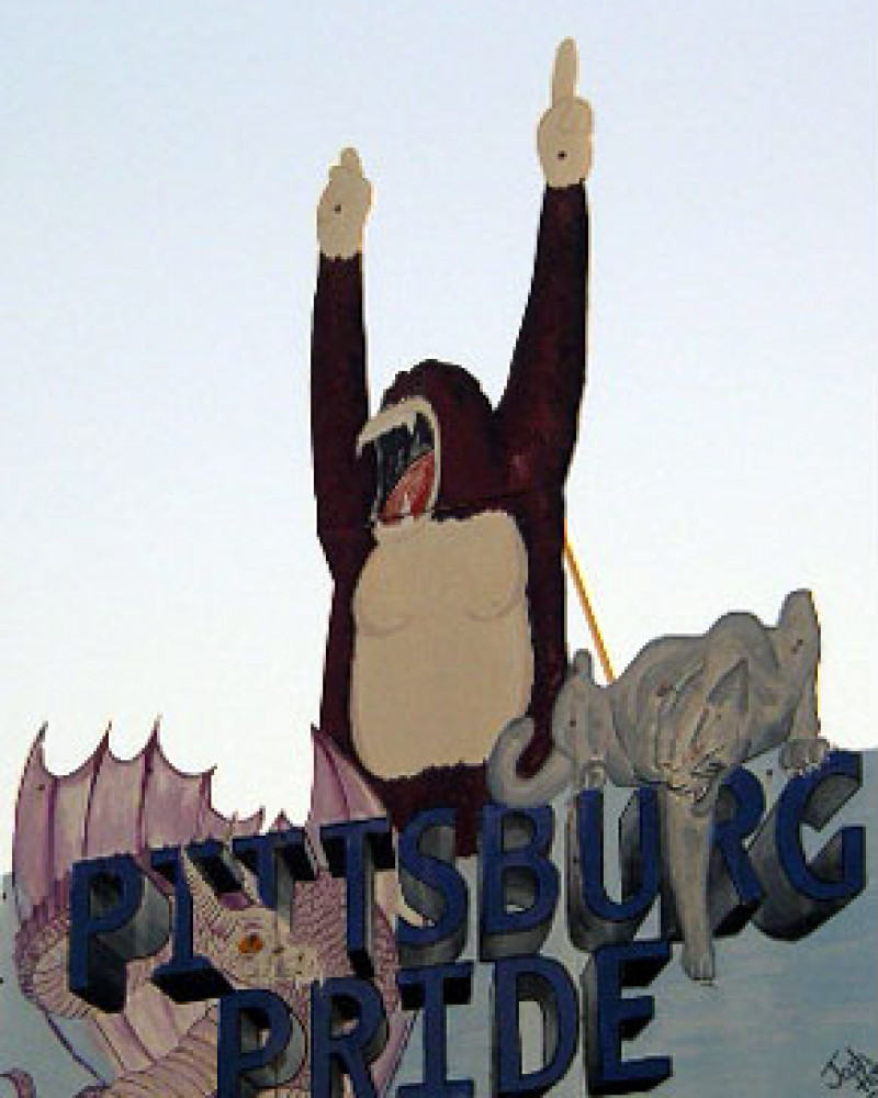 The gorillas are triumphant in this town