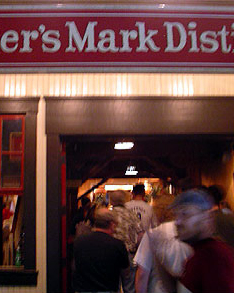 The entrance to Maker's Mark Distillery