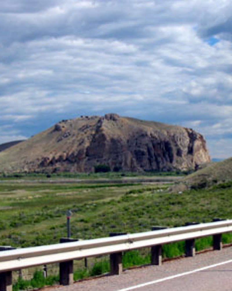 Beaverhead Rock, which I suppose looks like a beaver if you squint