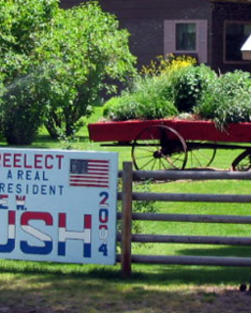A real Independence Day treat for us in rural Montana. Sort of says it all
