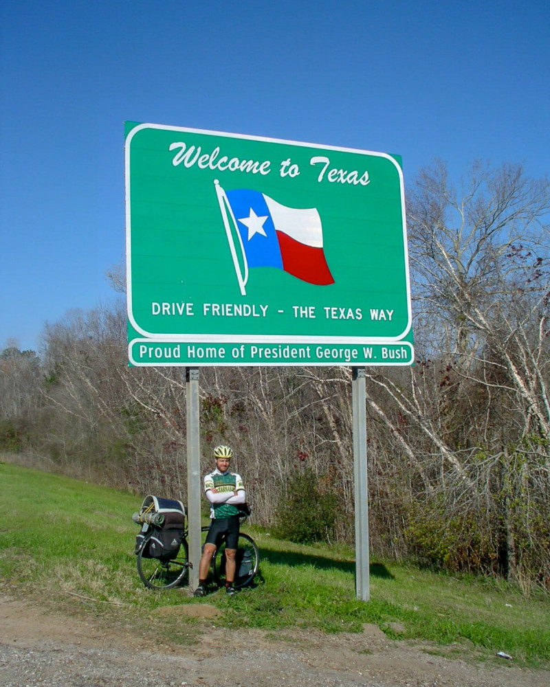 It's Texas for the next 800 miles