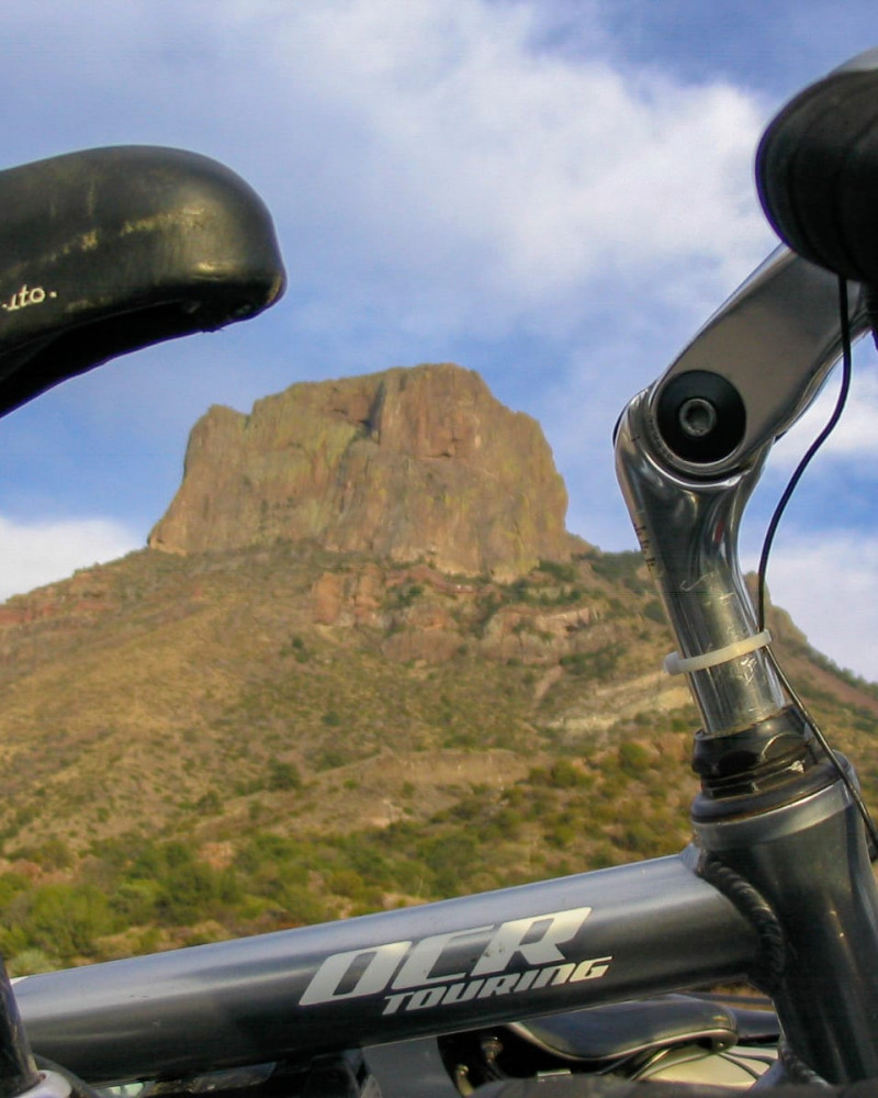 Emory Peak, the crown of the Chisos Mountains